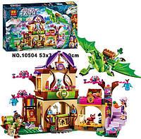"""Конструктор Bela Fairy 10504 """"Секретный рынок"""", аналог Lego Elves 41176, для девочек, 694 детали, 6+"""
