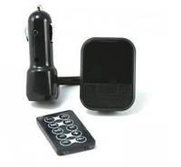 MP3 плеер с FM трансмиттером ST712-D: пульт ДУ, SD/MMC/USB накопители, поддержка MP3/DVD/CD, 85 г