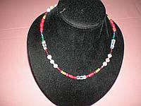 Наваратна ожерелье.9 драгоценных камней.
