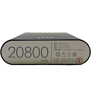 Портативное зарядное устройство (Power Bank) Powerbank M1, 20 800 mAh, 2USB. Ассортимент цветов