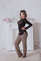 "Пижама женская ""Леопард"""