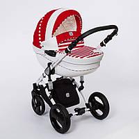 Детская коляска Stars Dada Paradiso Group 2 в 1 или 3 в 1 красная