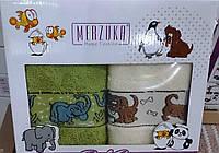Качественный набор детских полотенец