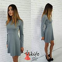 Платье с завышенной талией ВФ 102004