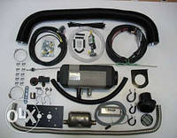 Автономный отопитель Webasto AT EVO 40, 12В, дизель (отопитель + Монтажный комплект + регулятор температуры)