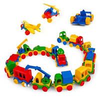 Маленькие машинки серии Kids cars WADER (39244)