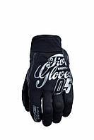 Мотоперчатки FIVE Slide Hiro кожа/текстиль черный S