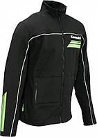 Куртка Kawasaki Soft Shell Sports II черный зеленый XL