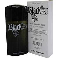 Тестер мужской парфюмированной воды Paco Rabanne Black XS
