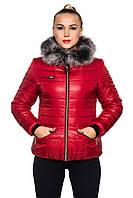 Стеганая зимняя куртка - Ксения
