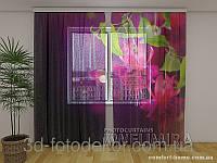 ФотоТюль Цветы фуксии