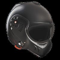 Мотошлем ROOF Boxer V8 Full Black черный мат 60 (L)