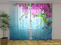ФотоТюль Изумительные орхидеи