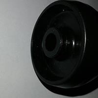 Ролик мебельный чёрный (Ф-43мм)