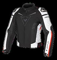 Мотокуртка Dainese Super Speed текстиль черный белый красный 58