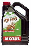 Масло моторное для квадроциклов минеральное MOTUL QUAD 4T SAE 10W40 (4L) 101234