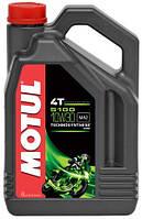 Масло моторное для мотоциклов Technosynthese MOTUL 5100 4T SAE 10W30 (4L) 104063