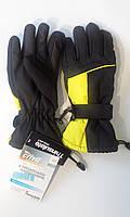 Перчатки спортивные лыжные теплые детские Crivit sports на флисе размер 6,5
