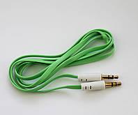 AUX кабель Lite Slim Green