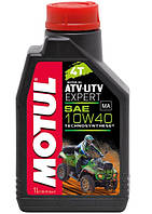 Масло моторное для квадроциклов Technosynthese MOTUL ATV-UTV EXPERT 4T 10W40 (1L) 105938