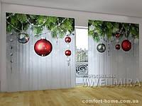 Фотоштора ПАНОРАМА Рождественские декорации
