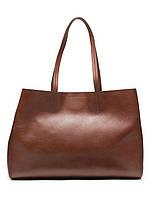 BANANA REPUBLIC TOTE кожаная брендовая сумка шоппер женская