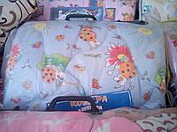 Набор одеяло и подушка в кроватку на синтепоне