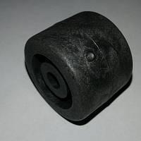 Ролик мебельный - бочёнок чёрный (Ф-28 мм)