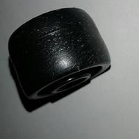 Ролик мебельный - бочёнок чёрный (Ф-31мм)