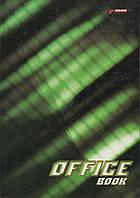 Книга канцелярская А4 96 листов в клетку Бриск