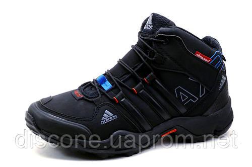 Adidas Gore Tex, кроссовки зимние, мужские, на меху, черные