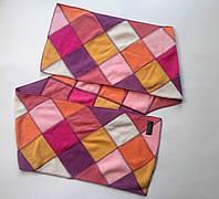 Мягкий модный приятный шарф для девушки подростка девочки шарфик