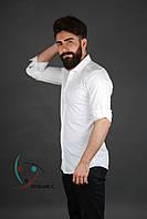 Стильная мужская рубашка белая