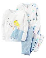 Комплект из 2-х пижам для девочки Carter's США, (Размер: 2Т;3Т;4Т;5Т):