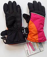 Перчатки спортивные лыжные теплые детские Crivit sports на флисе размер 6