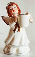 Статуэтка Ангел - подсвечник, фарфоровый