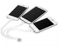 Шнур для зарядки мобильных телефонов 3in1 USB 2.0, USB зарядка для смартфонов