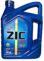Моторное масло ZIC X5 Diesel 10w40 6л.