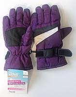 Перчатки спортивные лыжные теплые детские Crivit на флисе размер 6