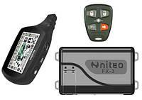 Двухсторонняя автосигнализация Niteo FX-3 LCD с сиреной