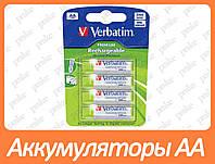 Аккумулятор Verbatim AA 2500mAh x 4шт