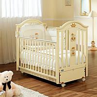 Кроватка Capriccio Antique ivory (маятниковая система из металла) 18501 ТМ: Pali