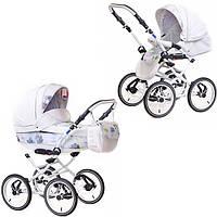 Детская классическая коляска 2 в 1 Katrina кожа 2S Adamex