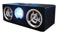 Портативная акустика с USB HY-B9, FM радио, стерео звук, пульт управления, эквалайзер, фонарь