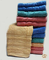 Полотенце банное Версаче-3 бежевое