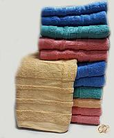 Полотенце для лица и рук Версаче-3 бежевый