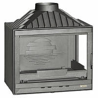 Топка каминнаяLAUDEL 700 COMPACT с правым стеклом - 14 кВт