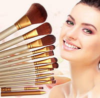 Набор кистей NAKED3 для макияжа 12 шт