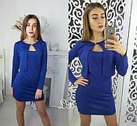Женский стильный костюм: болеро + платье (2 цвета)