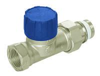 Термостатические радиаторные клапаны для одно-/двухтрубных систем с увеличенным коэффициентом, угловой DN 20